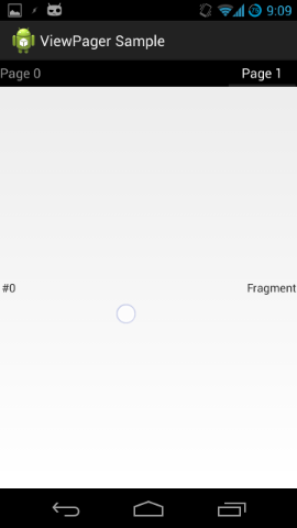 PagerTabStrip + ViewPager